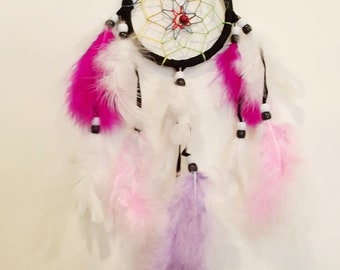 Pink and Lilac Dreamcatcher