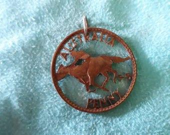 Australia 1958, one penny