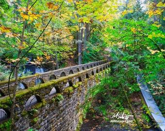 Stone Bridge at Whatcom Falls