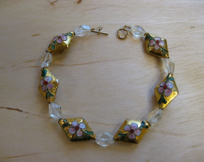 Insouciant Studios Blooming Bracelet Citrine and Amethyst