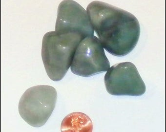 Green Adventurine - Medium Tumbled Polished Gemstone