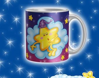Cup Starry Night-Purple Starlet