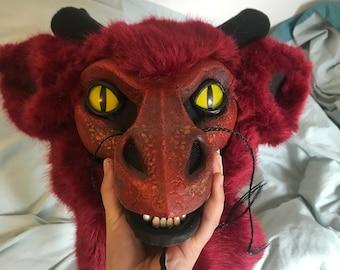 Fursuit dragon head
