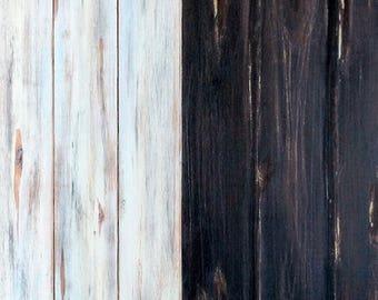 "Discount Wood Background ""Praga / New Orleans"" 80x60 cm"