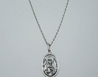 Saint Alice Medal Necklace