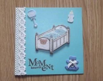 Baby Blue Boy card.