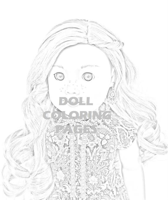 american girl doll tenney coloring pages | American Girl Doll Coloring Pages Tenney Grant Adult