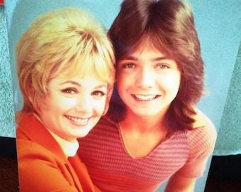 David Cassidy The Partridge Family Vintage Lab 8x10 Photo Shirley Jones  Music and TV Classic