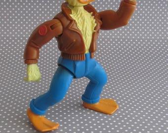 Vintage 1989 Teenage Mutant Ninja Turtles - Ace Duck Figure - Playmates Toys