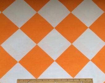 Tipsy Square orange Fabric