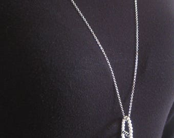 Necklace big pendant Silver 925/1000
