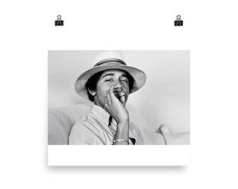 Barack Obama, Black History Month, Stoner, 420, pot, Poster