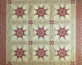 Feathered Star Heaven Quilt Pattern by Susan H. Garman