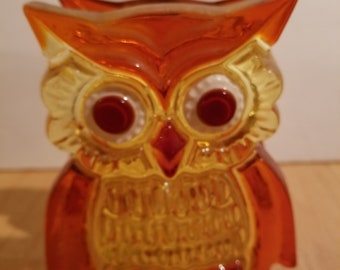 Lucite Owl Napkin Holder