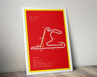 F1 Chinese Grand Prix - A3 Size - Digital Download