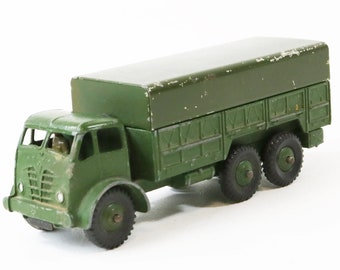 "Dinky ""Supertoys"" Diecast #622 10 Ton Army Truck w/Canopy-Made in England"
