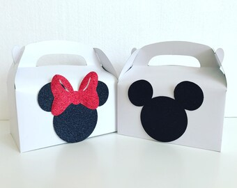 Mickey/Minnie Party boxes