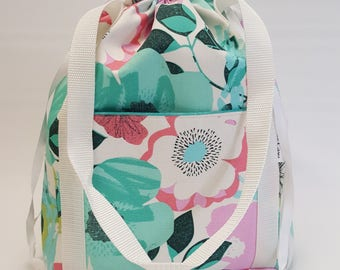 Perfect Project Bag in Big Floral, size Medium