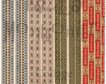 Strips Number 1 Digital Download Collage Sheet