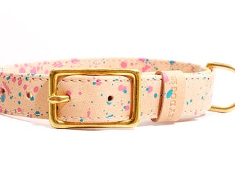 HEY DOG Co. Pinky Dots Collar