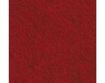 felt Cinnamon Patch 30cmx45cm 064 Heather Red