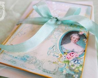 Madame de Pompadour Letters of Passionnante Card Set or Invitations Set