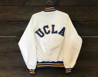 Vintage 80s UCLA Satin Jacket