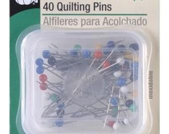 "1 3/4"" Dritz 40 Quilting Pins - 32"