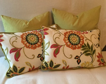 Avery garden Decorative pillow set
