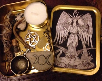 Hecate Witch Box, Goddess Protection, Altar, Wicca, Shrine