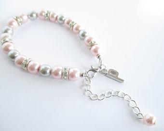 Letter Bracelet, Personalised Initial Bracelet, Bridesmaid Bracelet, Personalised Bracelet, Bridesmaid Gift, Bridesmaid Keepsake