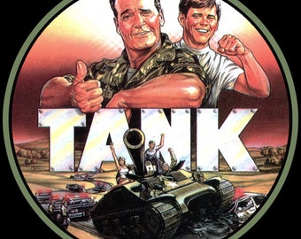 80's James Garner Classic Tank Poster Art custom tee Any Size Any Color