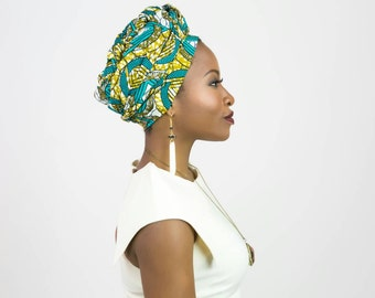 African fabric headwrap, African print headwrap, African print scarf, African head wrap, African headwrap, African head scarf, Ankara scarf