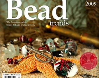 NEW Bead Trends Magazine June 2009 SBC