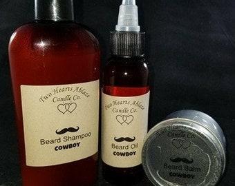Ultimate Beard Care Set, Cowboy
