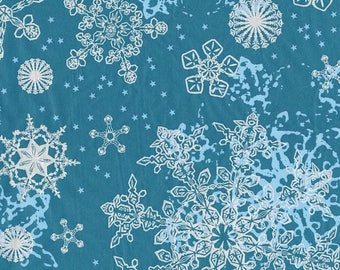 Leaf Decopatch 30 x 40 cm - snowflakes N 521 - Ref FDA521 (great Christmas) - while stock last!