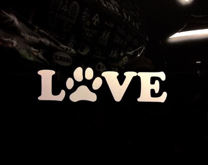 Pet lover decal, pet sticker, pet decap, dog cat lover decal, dog cat lover sticker, animal lover decal, peta decal, aspca decal