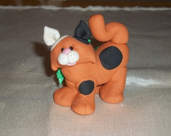 FIMO Kitten Figurine