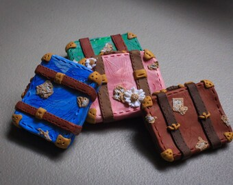 Vintage Suitcase magnet