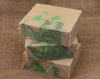 Patchouli and Hemp Goats milk soap handmade soap homemade soap cold processed soap bar soap