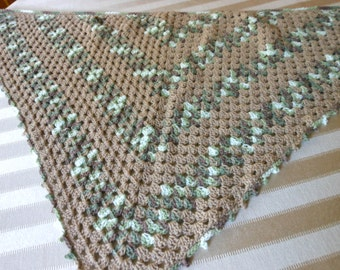 crochet triangle shawl, ladies scarf neck wrap, shawlette open weave shawlette, knit scarves and wrap, gift idea for her