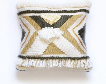 Small pillow style ethnic 34 cm x 34 cm
