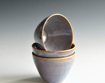 Set of three tea bowls
