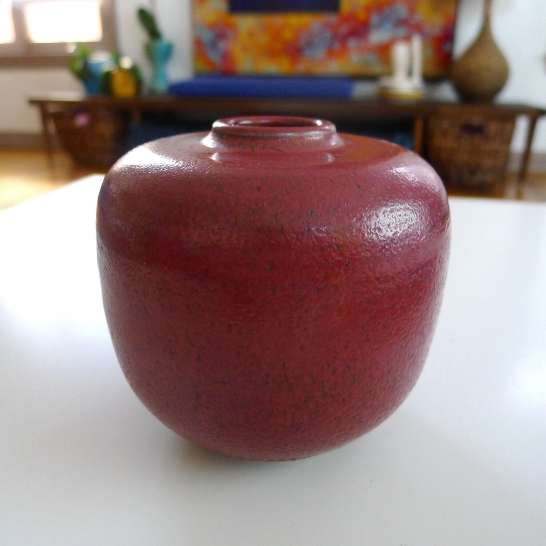 Rare studio pottery vase mcm rouge de cuivre zoom reviewsmspy