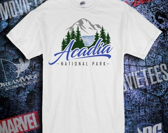 Acadia National Park Shirt - 4 Color options Available