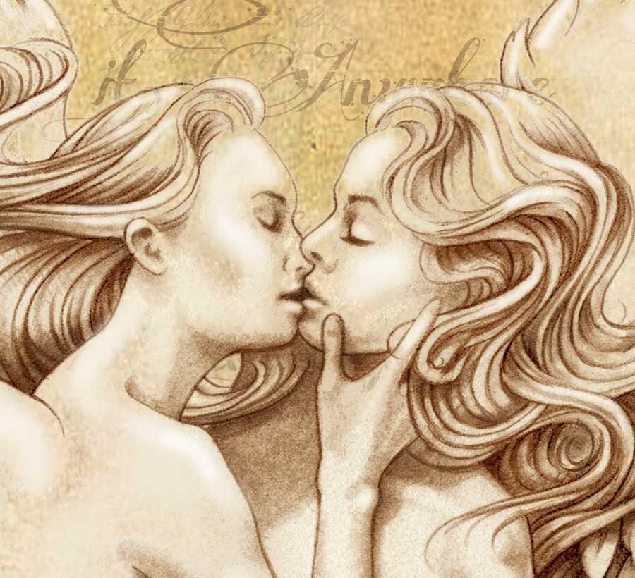 Erotic love art