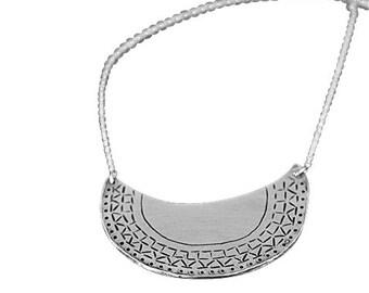 Mor-Rockin Necklace Silver
