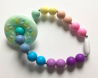 Chompy Donut Babywearing Accessory- Mint