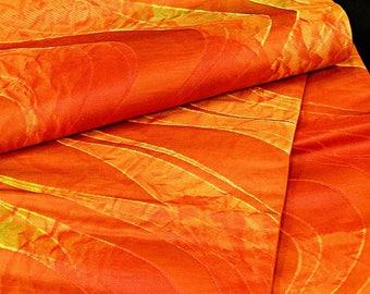 High quality!! / Japanese Kimono Obi / Vintage Silk Obi Sash Fukuro-Obi /  013105
