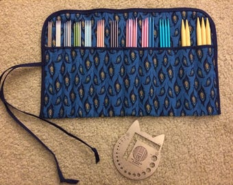 Double Pointed Knitting Needle Case
